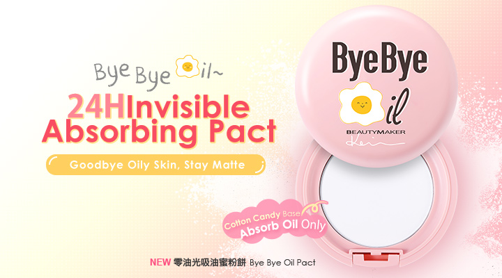 Bye Bye Oil Pact - Product Packaging
