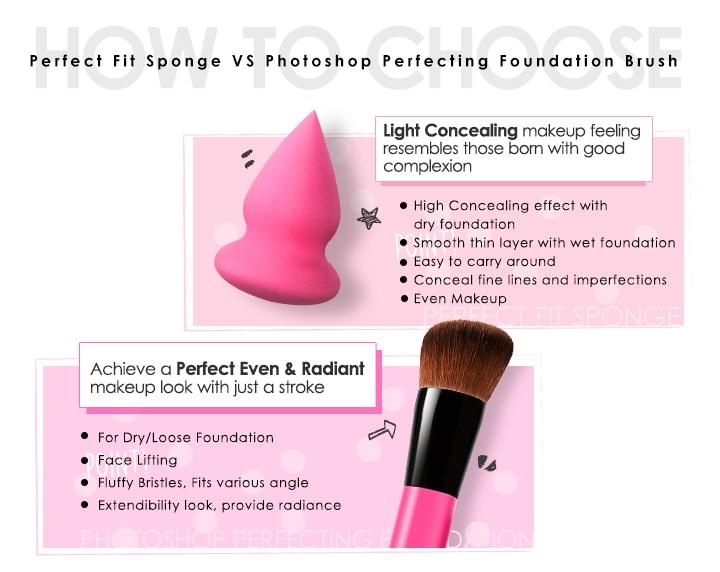 Perfect Fit Sponge - Features