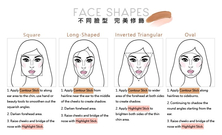 Beautymaker Highlight Glow Stick - Steps