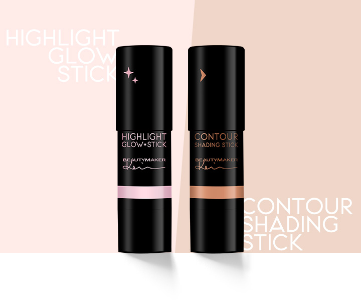 Beautymaker Highlight Glow Stick - Product Packaging
