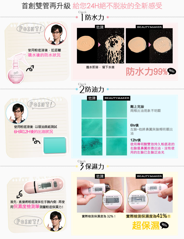 Tranexamic Whitening Liquid Foundation - Product Features 01
