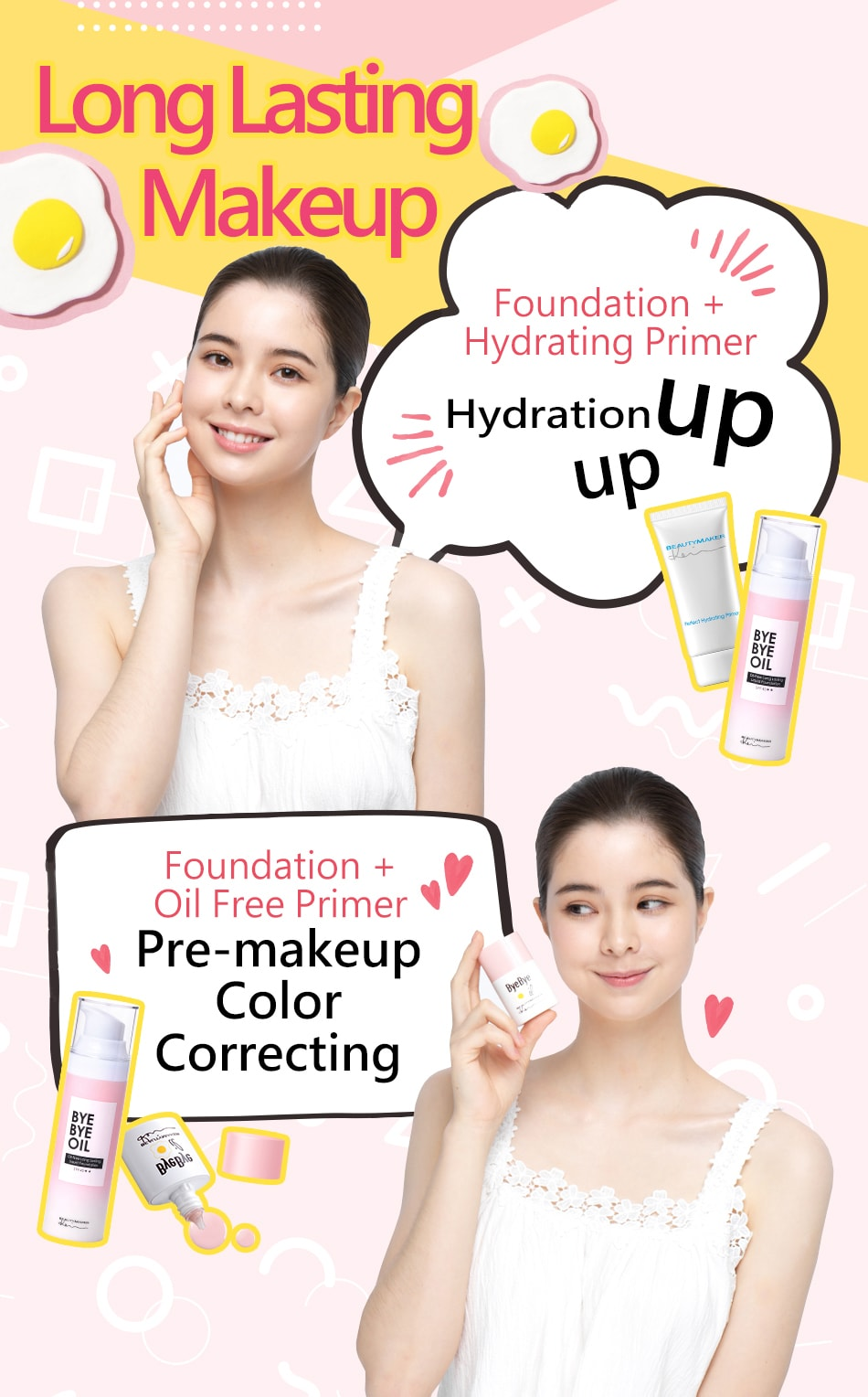 Long Lasting Liquid Foundation - Product Series