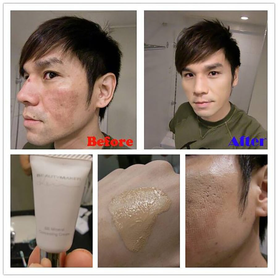 BB Mineral Concealing Cream - Product Usage