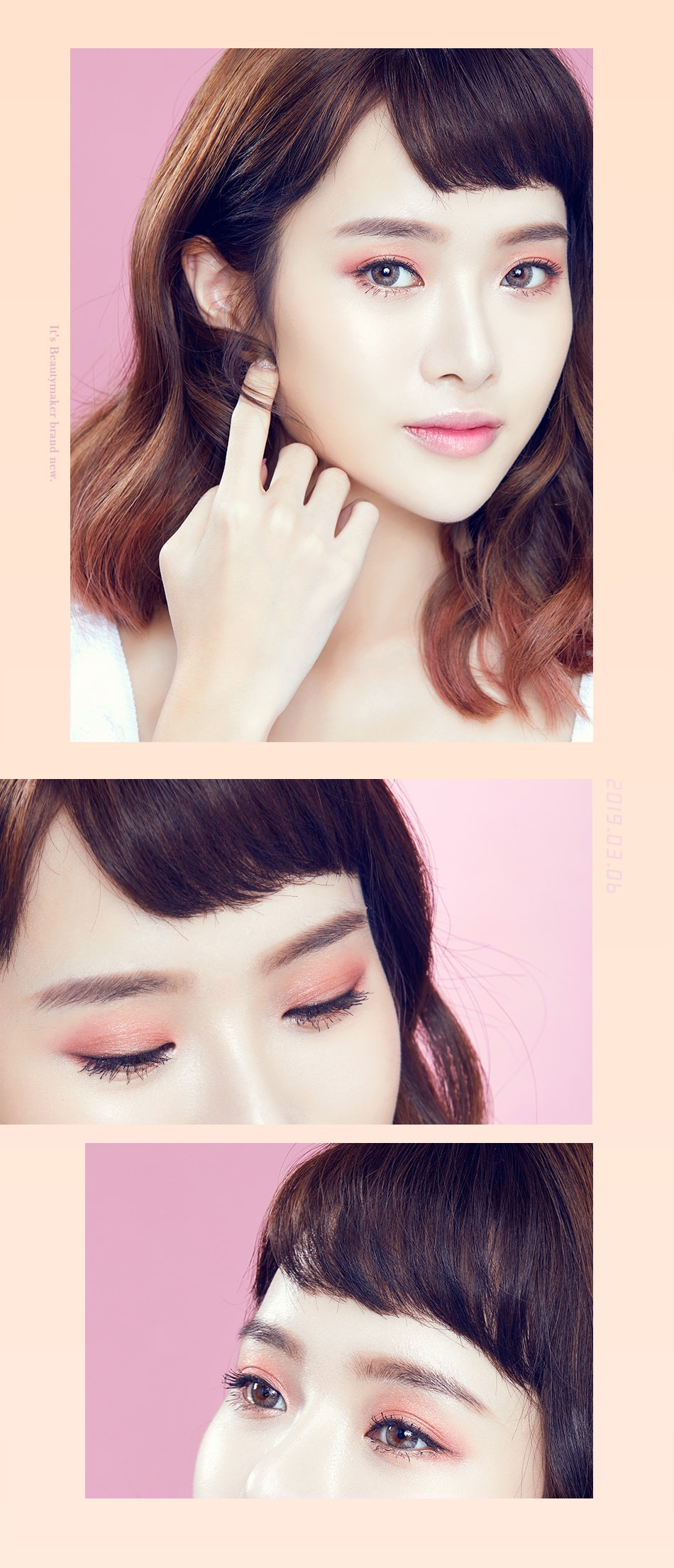 Color Blooming Contour Blush + Eyeshadow - look 2