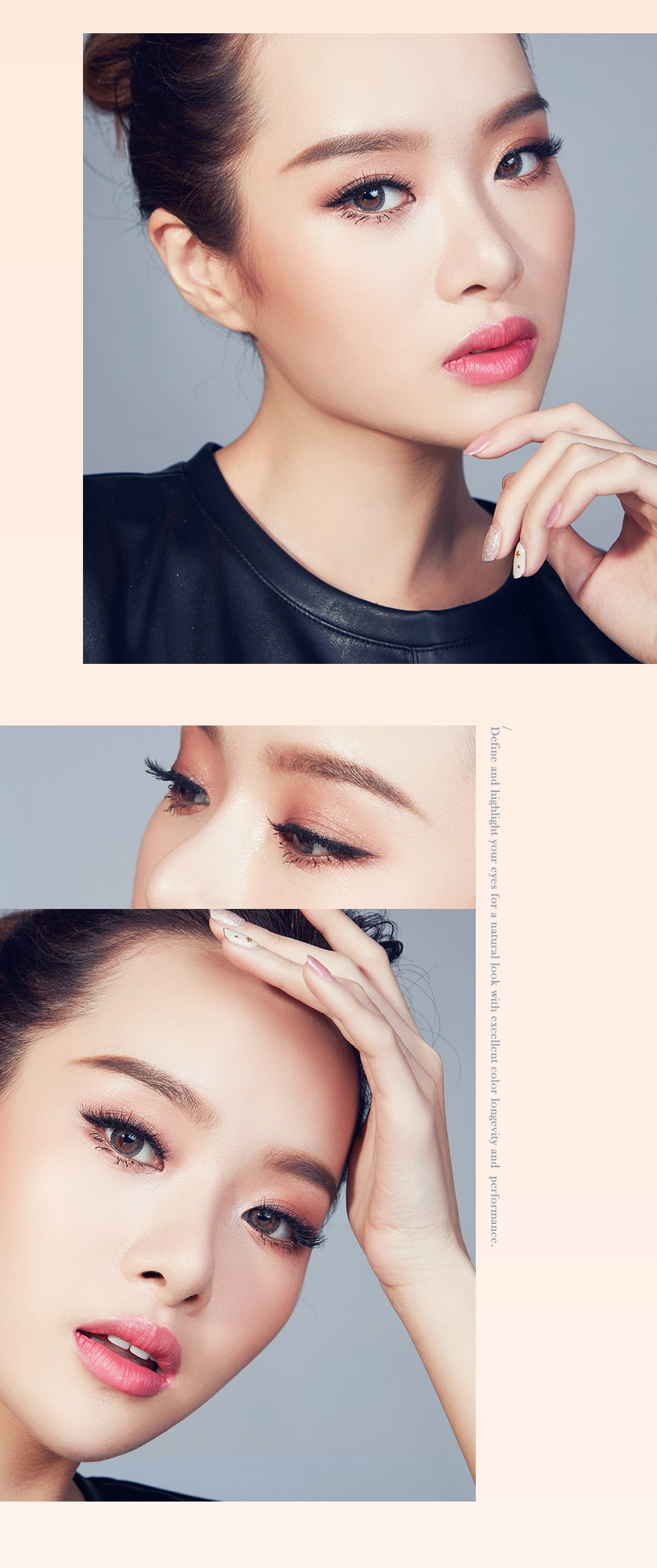 Color Blooming Contour Blush + Eyeshadow - look 3