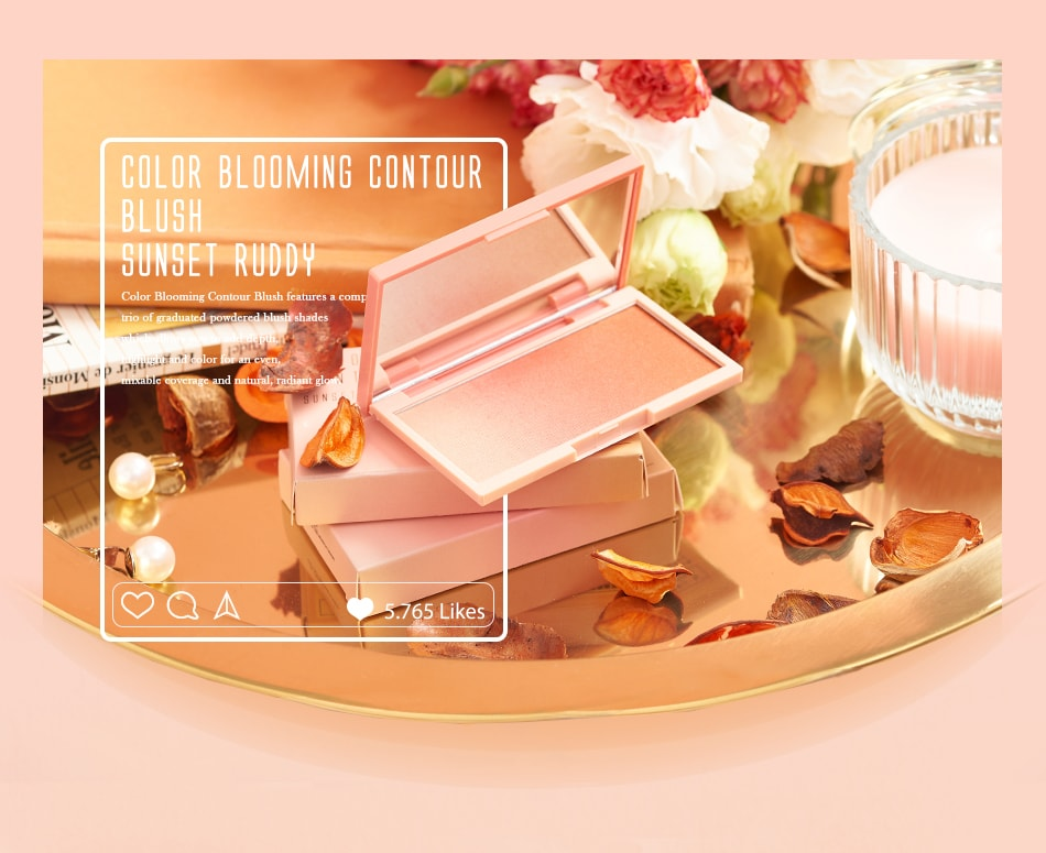Color Blooming Contour Blush - Product Details
