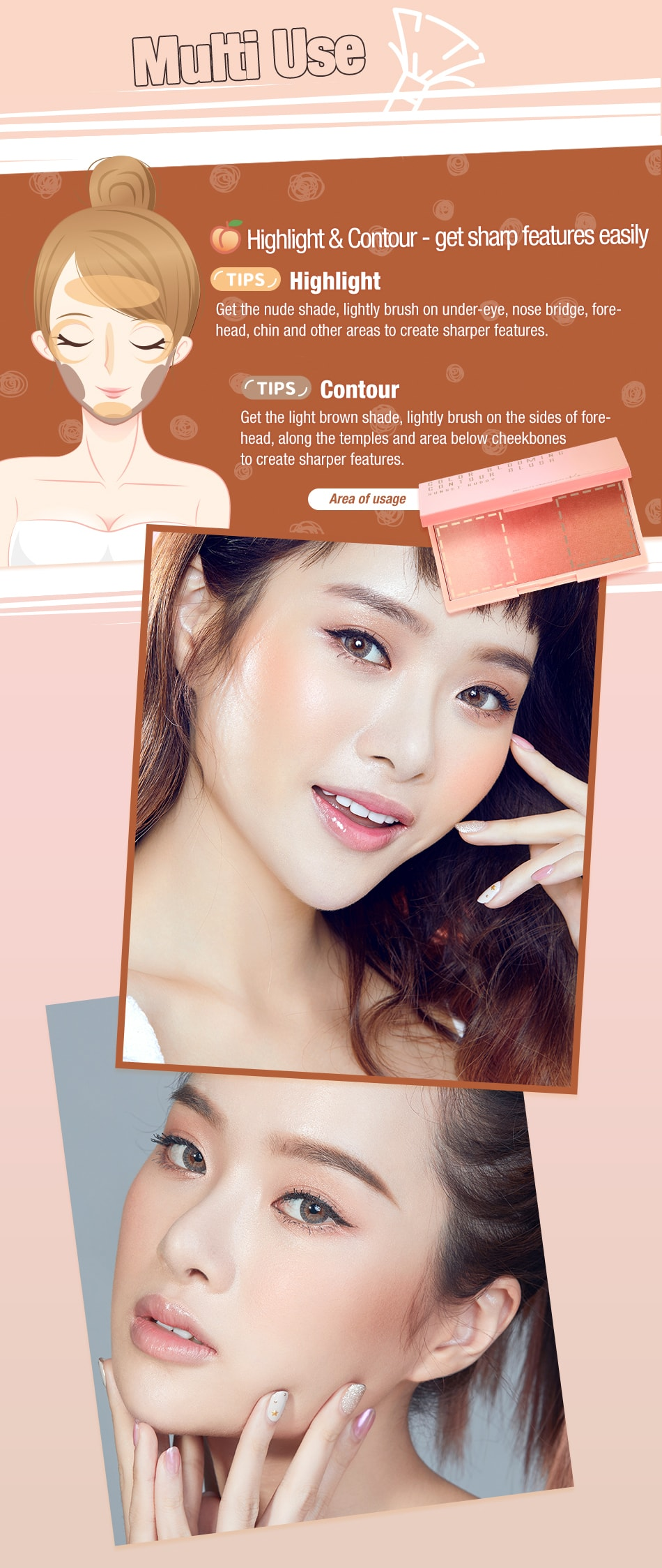 Color Blooming Contour Blush - Product Tips 3