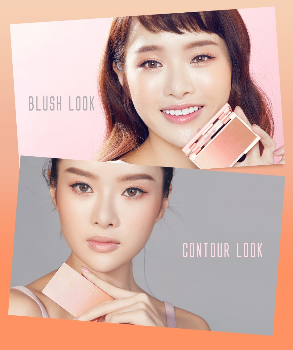 Color Blooming Contour Blush - Blush and Contour Looks