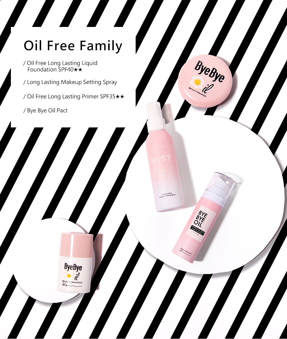 Bye Bye Oil Bundle - Oil free family