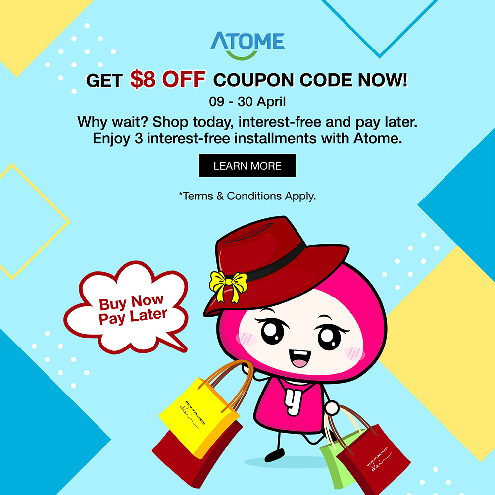 Atome-Coupon event-mobile